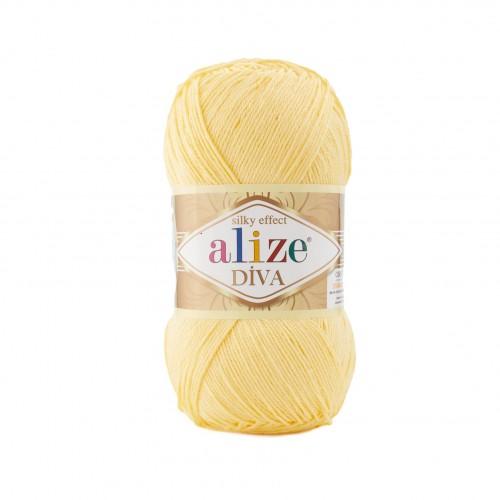 Alize Diva 187 Svetlá žltá