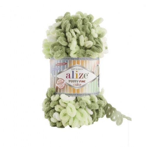 Alize Puffy fine color 6068
