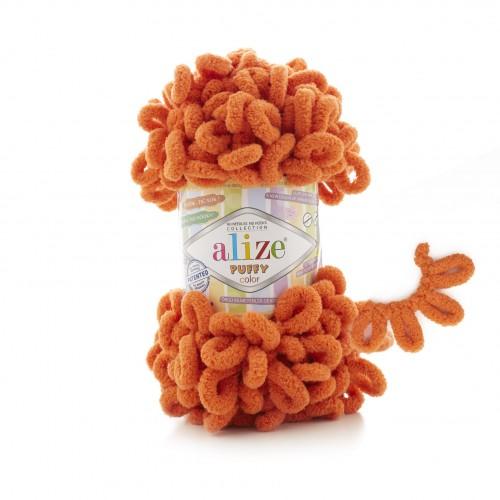 Alize Puffy 06 Oranžová