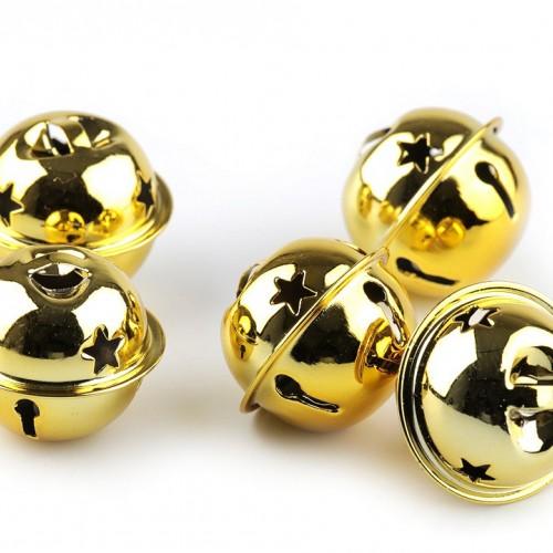 Roľničky 20 mm, zlaté