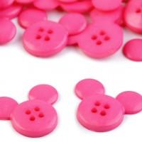 """Gombík detský veľkosť 34"""" Mickey, ružová"""