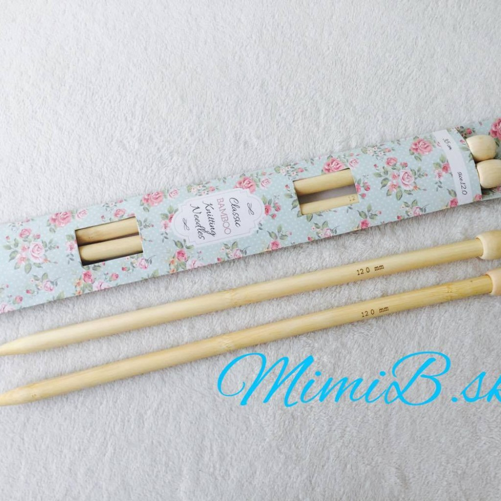 e16afaa23c630 Rovné ihlice bambusové č. 12