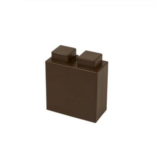 "EverBlock 3"", brown"