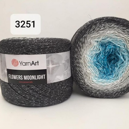 YarnArt Flowers Moonlight 260g, 3251