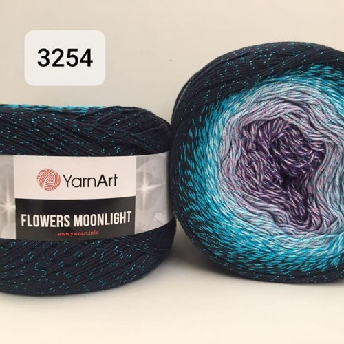 YarnArt Flowers Moonlight 260g, 3254