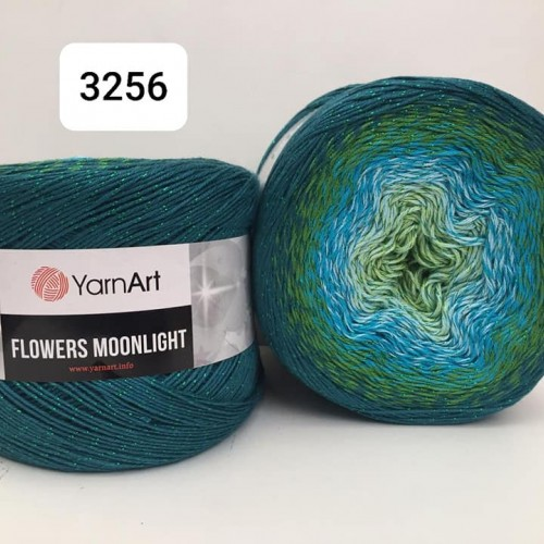 YarnArt Flowers Moonlight 260g, 3256