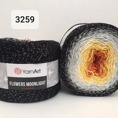 YarnArt Flowers Moonlight 260g, 3259