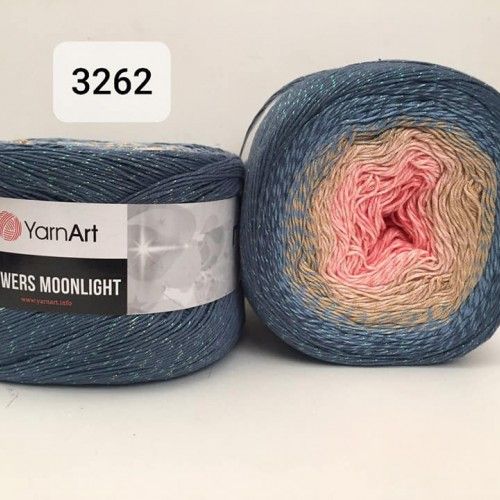 YarnArt Flowers Moonlight 260g, 3262