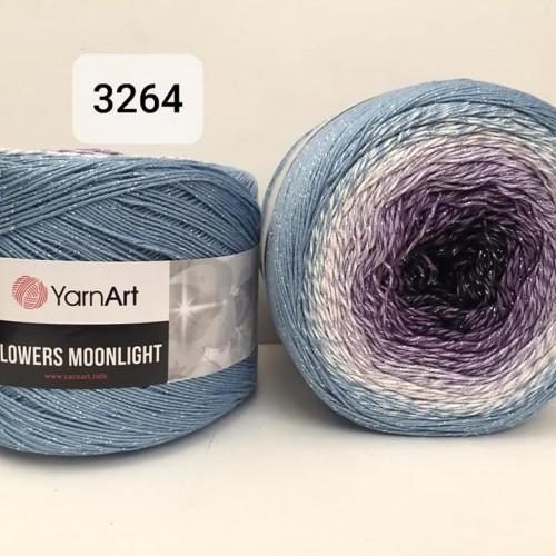 YarnArt Flowers Moonlight 260g, 3264