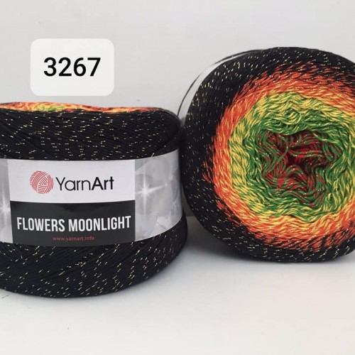 YarnArt Flowers Moonlight 260g, 3267