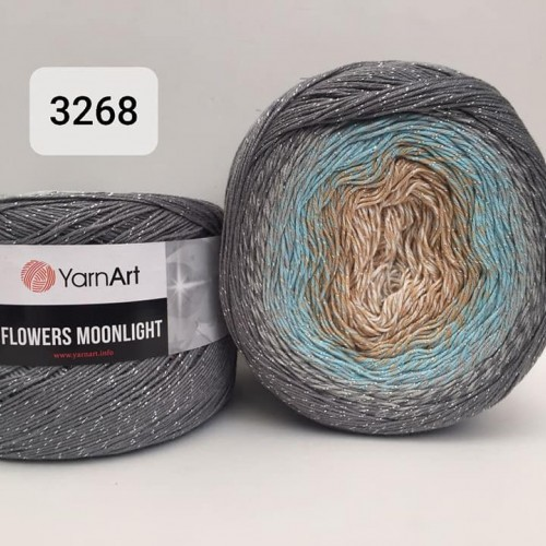 YarnArt Flowers Moonlight 260g, 3268