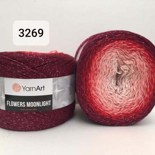 YarnArt Flowers Moonlight 260g, 3269