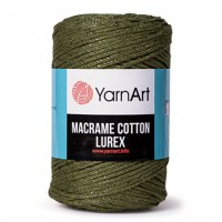 Macrame cotton LUREX