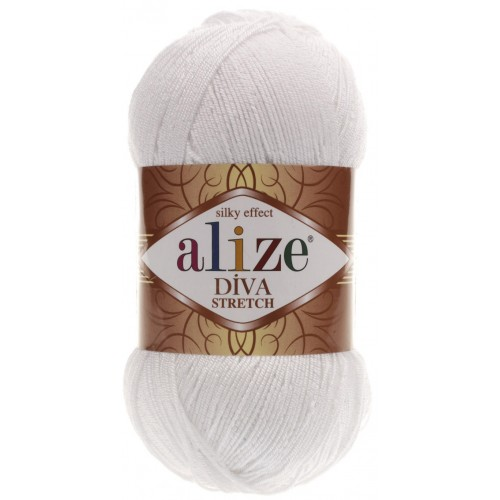 Alize Diva Stretch 100gr. 55
