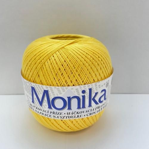 Háčkovacia priadza Monika 1144, žltá