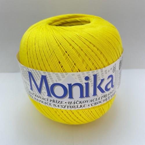 Háčkovacia priadza Monika 1654, sýta žltá