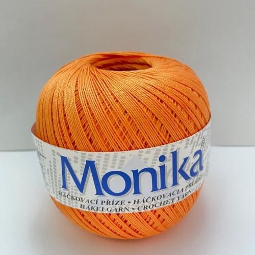 Háčkovacia priadza Monika 2254, oranžová