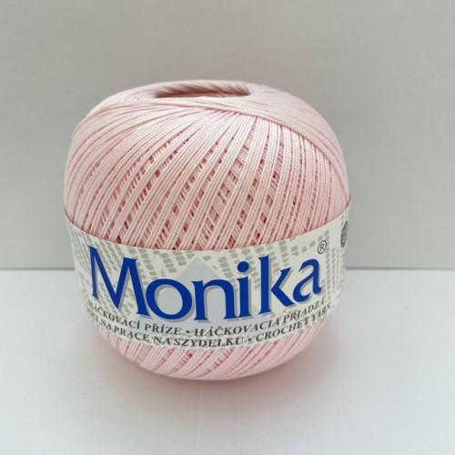 Háčkovacia priadza Monika 3214, svetlo ružová