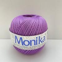 Háčkovacia priadza Monika 4444, stredne fialová
