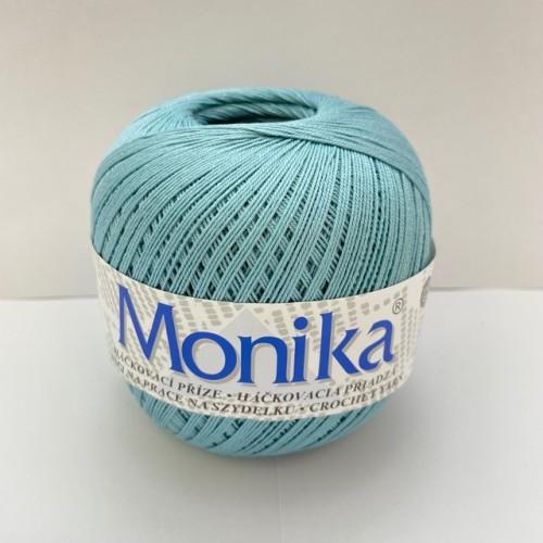 Háčkovacia priadza Monika 5164, stredne modrá