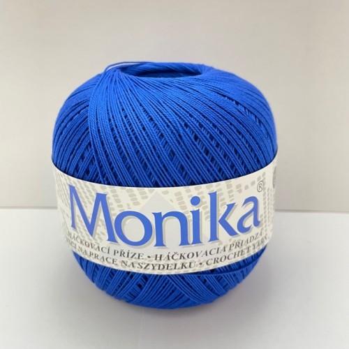 Háčkovacia priadza Monika 5574, královská modrá
