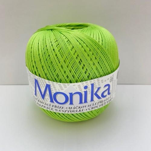 Háčkovacia priadza Monika 6124, svetlo zelená