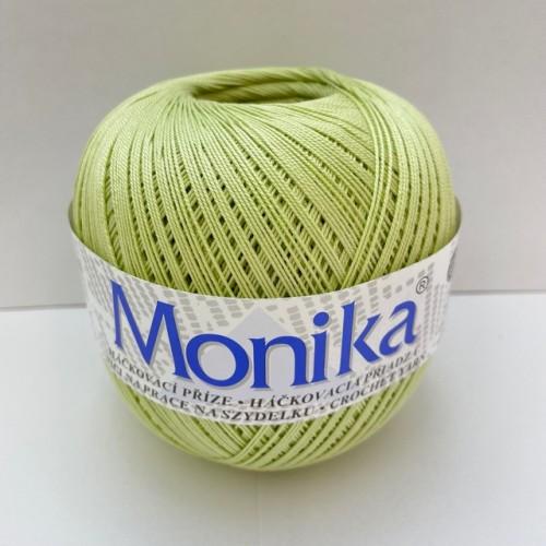 Háčkovacia priadza Monika 6224, svetlo zelená