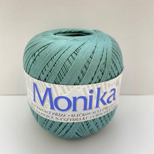Háčkovacia priadza Monika 6844, eukalyptus