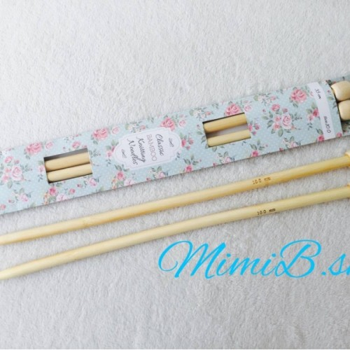 Rovné ihlice bambusové č. 10