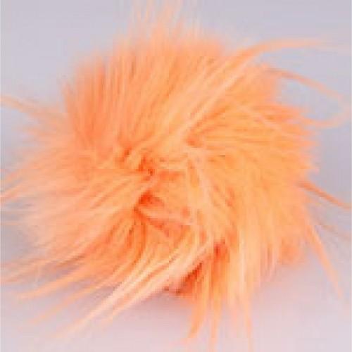 Brmbolec Bobble Hat oranžová